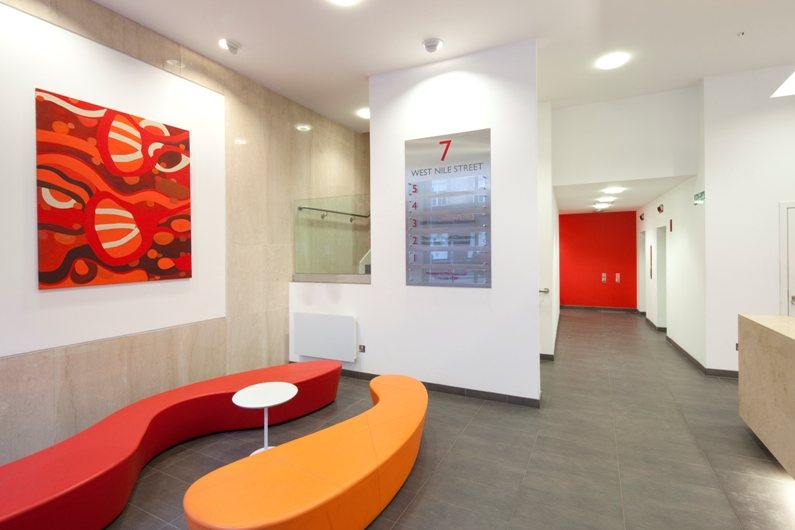 7 West Nile Street - reception