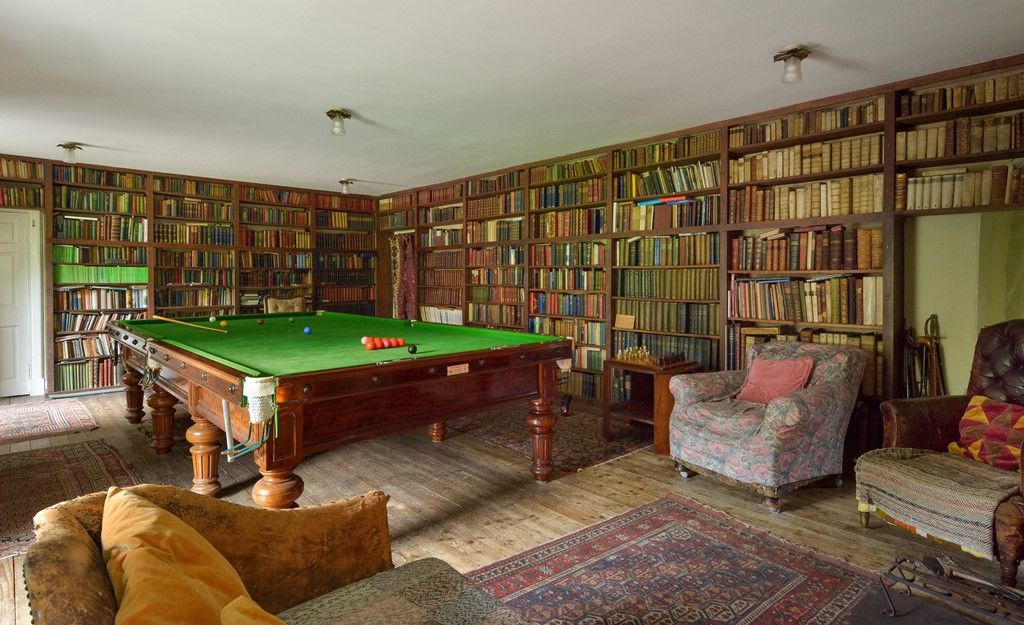Balbithan House - Library