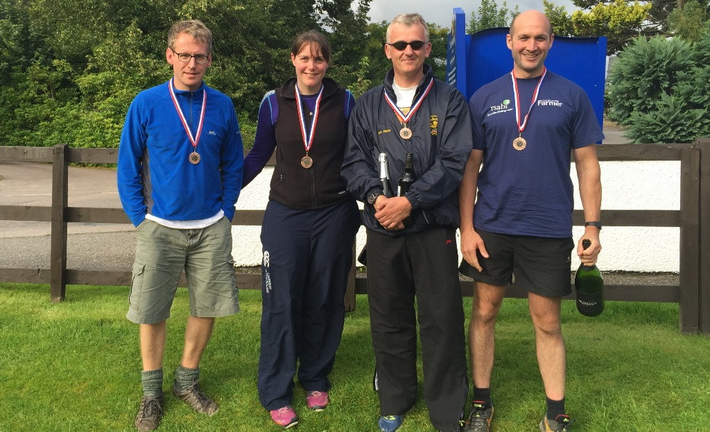 Bronze medals for George Lorimer, Claire Acheson, Rob Whitson and Dominic Wedderburn