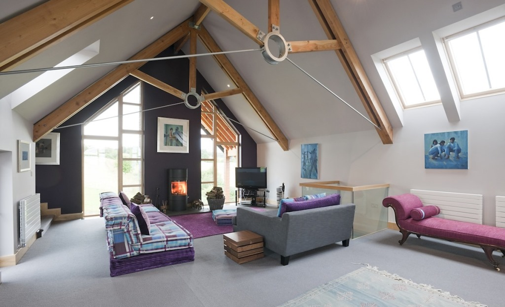 Essich Lodge - Galleried Family Room