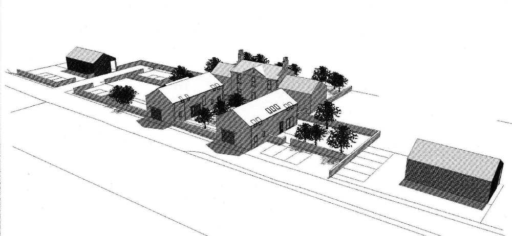 North Hill of Dripps Farm - Proposed Development of Farmhouse (Plot 1)
