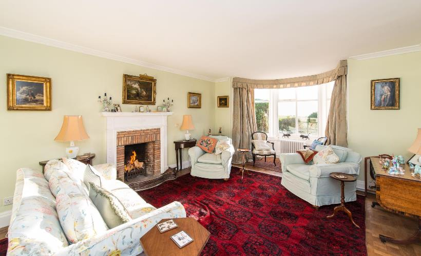 Strathairly Cottage - Drawing room