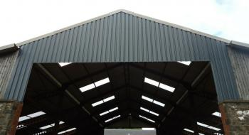 Reroofing of Agricultural Building