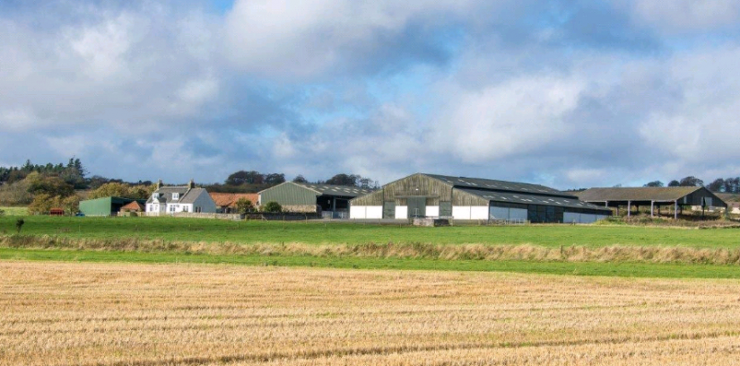 Annfield Farm is for sale though Galbraith for offers over £1,360,000