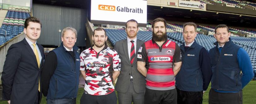 CKD Galbraith and Edinburgh Rugby