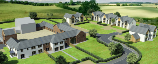 Balgreen Steading and New Builds for sale with galbraith Ayr