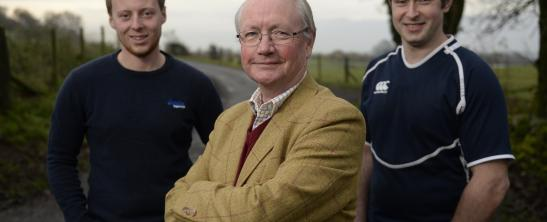 Allan Gordon (farmer), Mark Crichton Maitland, (owner of Elderslie Estates), Archie Paterson (farmer)
