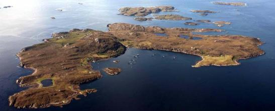 The island of Tanera Mor is now being offered for sale as a whole or in three lots