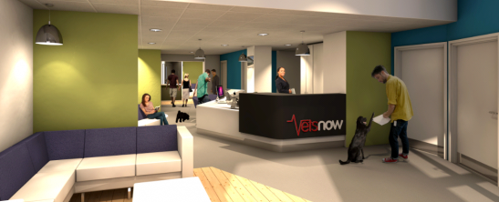 Vets Now Reception