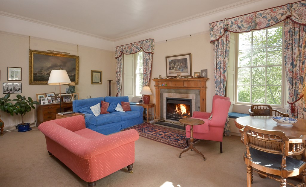 Tullynessle House - Drawing Room