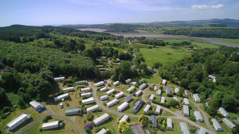 Doonpark Holiday Park, for sale with Galbraith