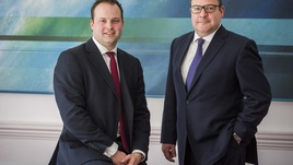 Jamie Thain and Will Sandwell Commercial Investment Team