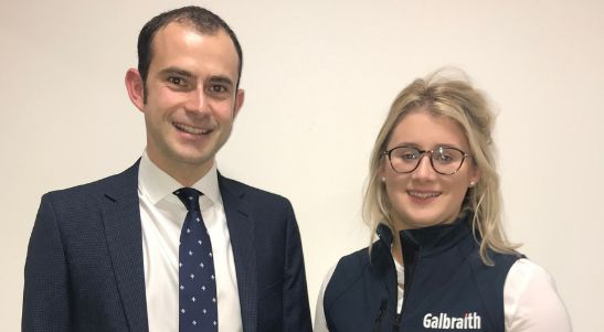 New staff - Galbraith - Simon and Lucy