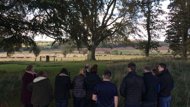SRUC Visit to Mellerstain Estate